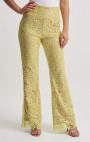 Forever Unique - Lana Lime Floral Lace Sequin Trousers
