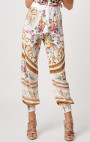 Forever Unique - Lopez White Multi Print Pants