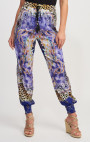 Forever Unique - Cuba Purple Multi Print Pants