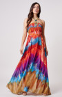 Forever Unique - Panama Multi Colour Halter Neck Maxi Dress
