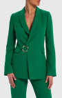 Forever Unique - Belle Emerald Green Tailored Suit Jacket