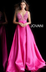 Jovani - Fuchsia Ballgown Dress
