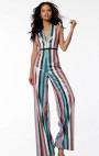 Jovani - Multi Colour Sequin Jumpsuit