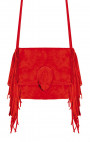 Kobja - Red Princess Rock Fringe Bag
