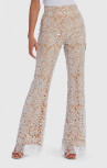 Forever Unique - Jenny White Sequin Floral Embroidered Tailored Suit Trousers (AF1107)