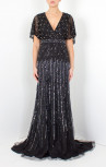 Boudi-Fashion-Jovani-Beaded-Sequin-Black-Dress-78250A-Front