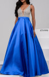 Jovani - Royal Blue Ballgown Dress (32609)