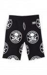 Philipp Plein - Jackson Black and White Jogging Shorts (P17C-BJT0035-PJO002N)